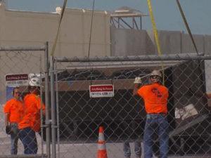 Air con unit in West Beach lift