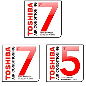Toshiba air conditioning introduce new warranty rules
